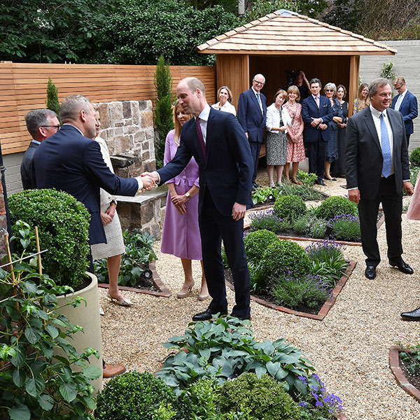 Prince William also visited James' Place in Liverpool, a non-clinical centre for men in suicidal crisis which will fully open in mid July and is right in line with the Duke's dedication to the cause of mental health.