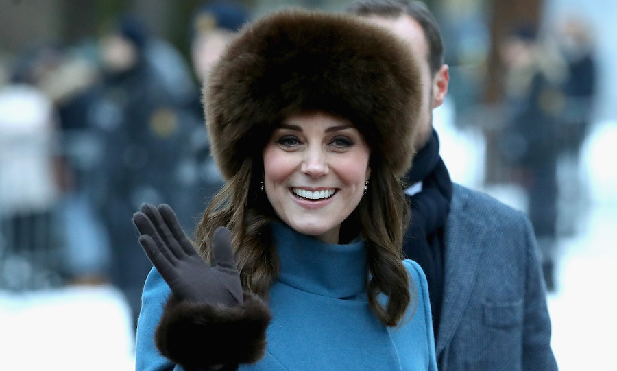 While in Oslo, Norway, Kate donned a beautiful faux fur hat while greeting the crowd outside the Royal Palace ahead of visiting the Princess Ingrid Alexandra Sculpture Park on February 1.