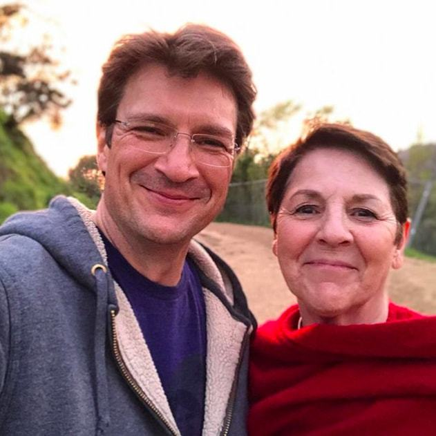 "<em>The Rookie</em> star Nathan Fillion admires his mother. ""My mom. She tirelessly strives to create happiness and joy around her,"" he said.