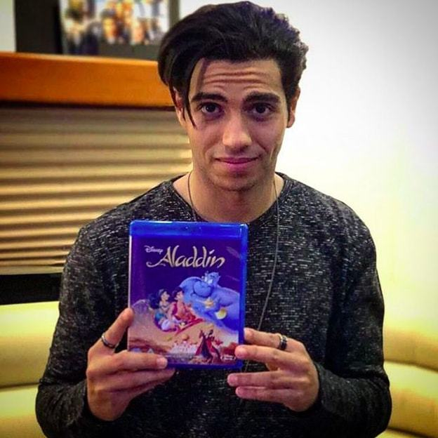 "Star of the upcoming live-action Disney film <em>Aladdin</em> Mena Massoud has big love for the leading lady in his life: ""My mom doesn't seem to really age, what a beaut.""