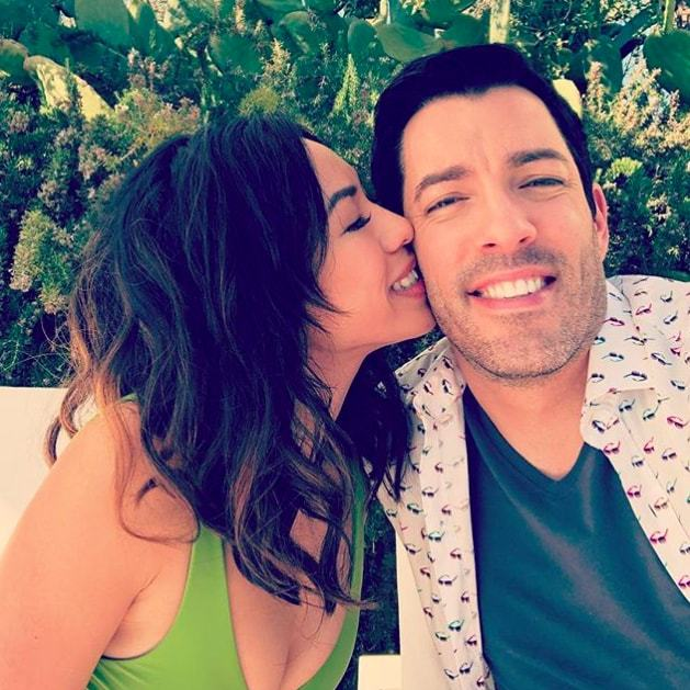 "Newlywed Drew Scott has heart eyes for his wife, Linda Phan. ""Hands down my wife, Linda. She's physically stunning and even more important has the most fun loving personality I've ever been around,"" he said.
