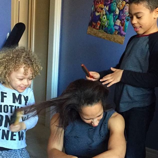 "For Amanda Brugel of <em>The Handmaid's Tale</em>, the answer is simple: ""My children.""