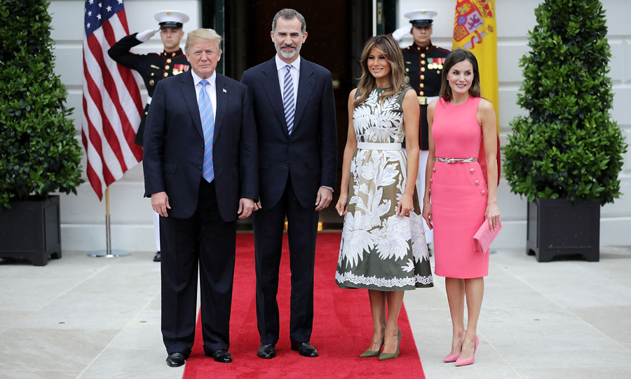 "<p><strong><a href=""/tags/0/queen-letizia"">Queen Letizia</a> and <a href=""/tags/0/king-felipe"">King Felipe of Spain</a> traveled across the pond to visit New Orleans and San Antonio, two cities that celebrate the three hundred years of their respective foundations this year and that hold important historical testimony of the deep and close ties that unite Spain and the United States. The royal couple will cap off their trip with a visit to Washington, D.C., where they will meet the Trumps. First Lady Melania Trump's communications director revealed to HOLA! USA that President Donald Trump's wife will host Her Majesty ""for tea at the White House."" Click through to see highlights from the Spanish royals' stateside trip…</p></strong>