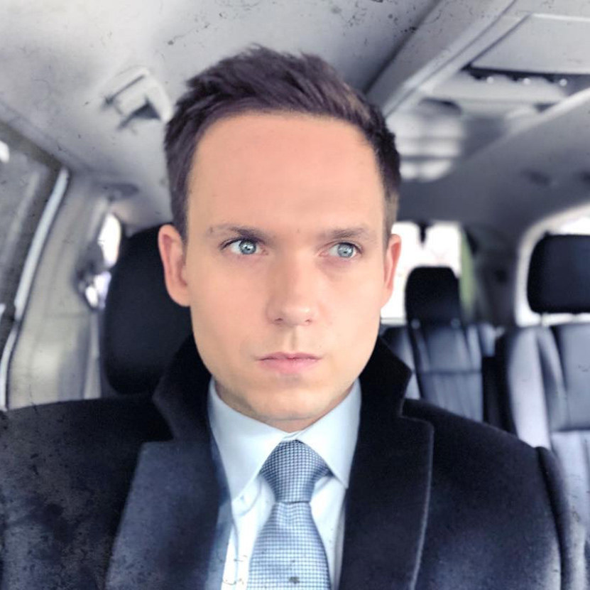 "Patrick J. Adams of <em>Suits</em> is all about his grandma. ""My grandmother, Patricia Marsh. She's been doing this life thing for quite a while and every day she blows me away with her energy, curiosity and compassion. She deserves my spot on this list for sure,"" he said.