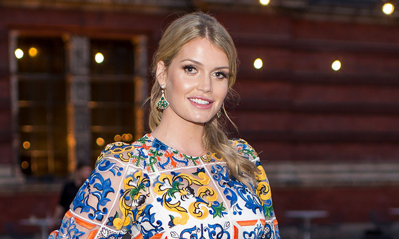 Lady Kitty Spencer's Dolce & Gabbana outfit is to die for at V&A ...