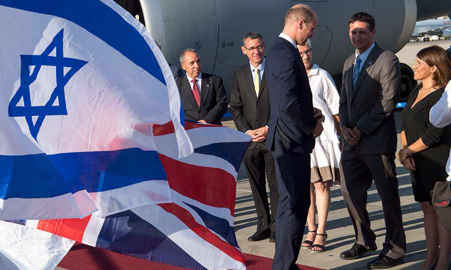 Making history as the first British royal to do so, the Duke arrived at Tel Aviv's Ben Gurion airport on Monday, June 25 for an official four-day visit to Israel and the Palestinian territories. 