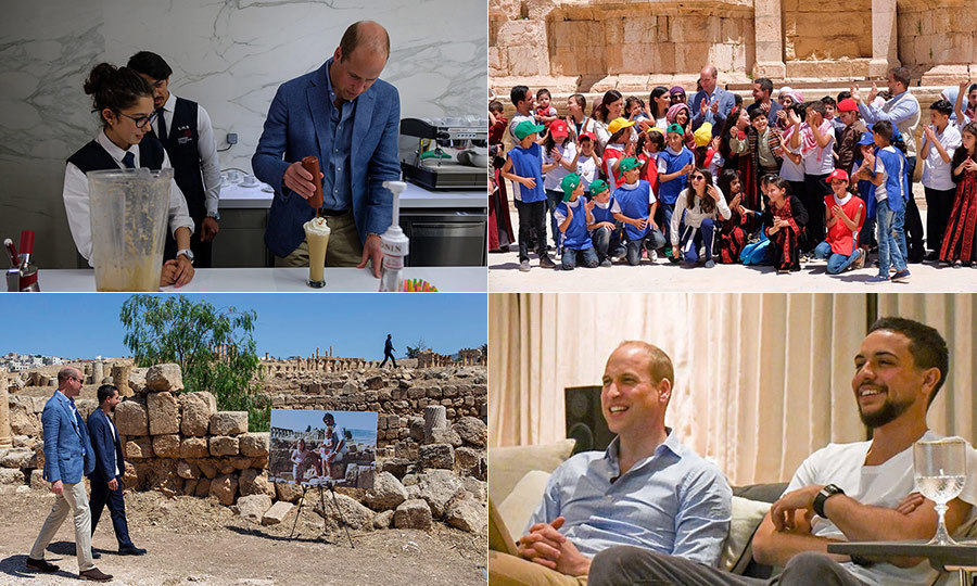 "<a href=""/tags/0/prince-william/"">The Duke of Cambridge</a> kicked off his five-day tour in the Middle East on June 24, touching down in Jordan to begin the history-making excursion that includes a series of unprecedented stops for a British royal. After a two-day visit, during which Prince William toured the capital city and took in the England FIFA match with Crown Prince Hussein, the prince set off for Israel and Palestine. This portion of the trip, from June 26 to 28, is particularly noteworthy as it marks the first time a senior royal has ever visited these regions. <strong>Click through to see all the best photos from Prince William's tour!</strong> 