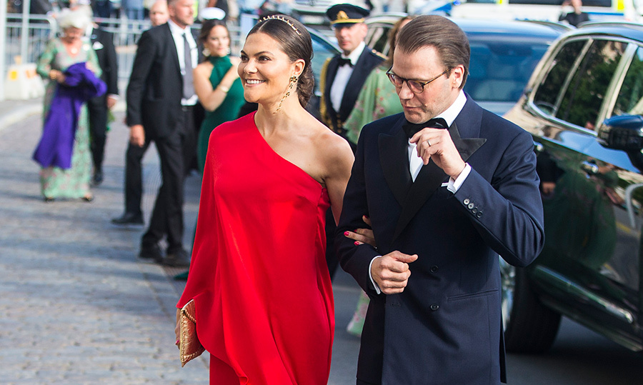 What a beautiful couple! Crown Princess Victoria and Prince Daniel dusted off their best outfits for the 2018 Polar Music Prize award ceremony.