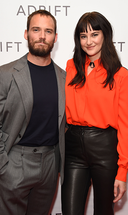 Sam Claflin and Shailene Woodley attended a special screening of <em>Adrift</em> on June 24 London.