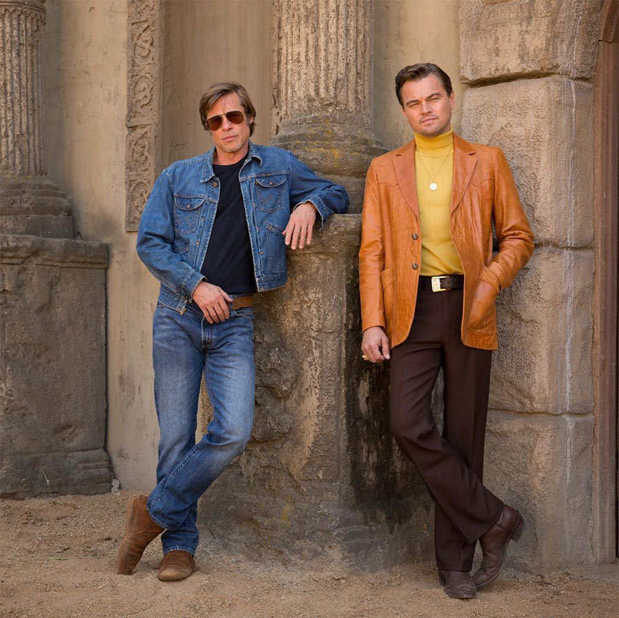 <h2>Brad Pitt and Leonardo DiCaprio</h2>