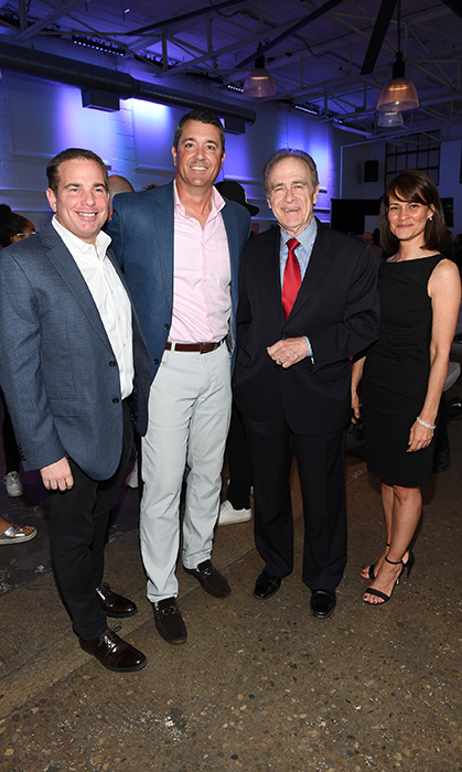 <p>Scott Buttle, Tom Tedford, Norm Kelly and Cristina Franco