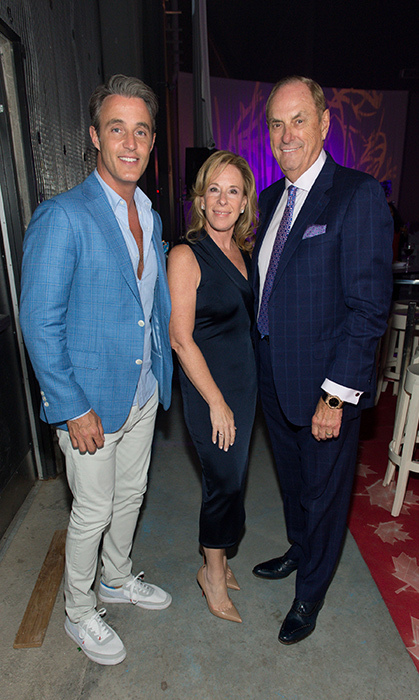 <p>Ben Mulroney and Sandi and Jim Treliving