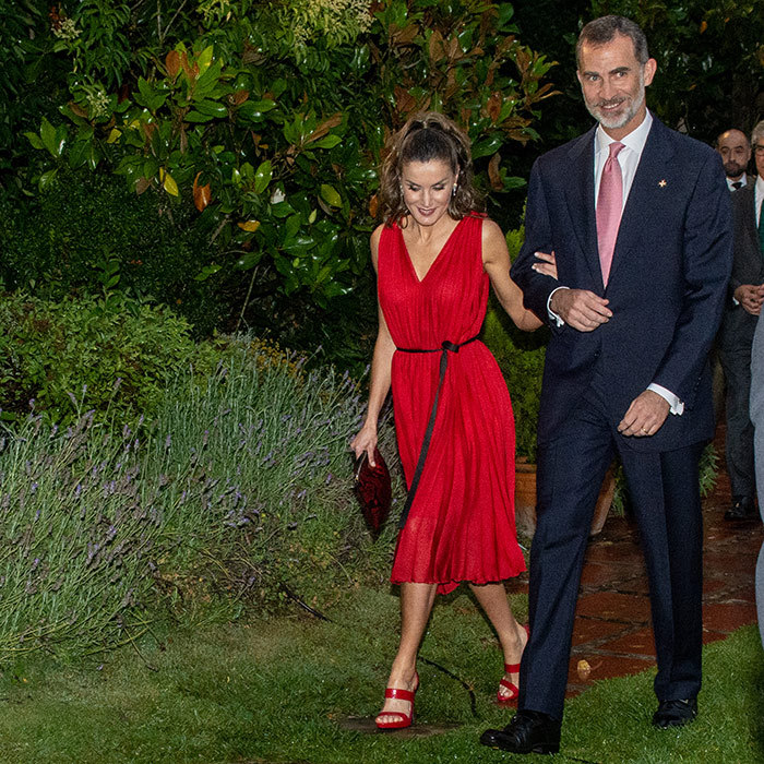 Queen Letizia and King Felipe dusted off their finest clothes to attend the Premios Fundacion Princesa de Girona on June 28.