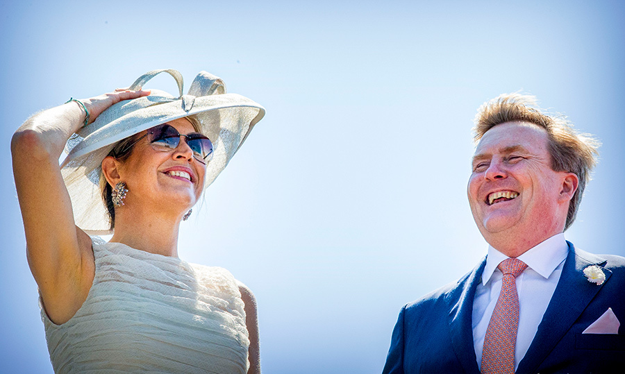 Queen Maxima and King Willem-Alexander appeared to be having the time of their lives!