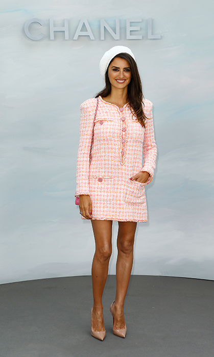 Penelope Cruz was pretty in pink as the latest Chanel ambassador!