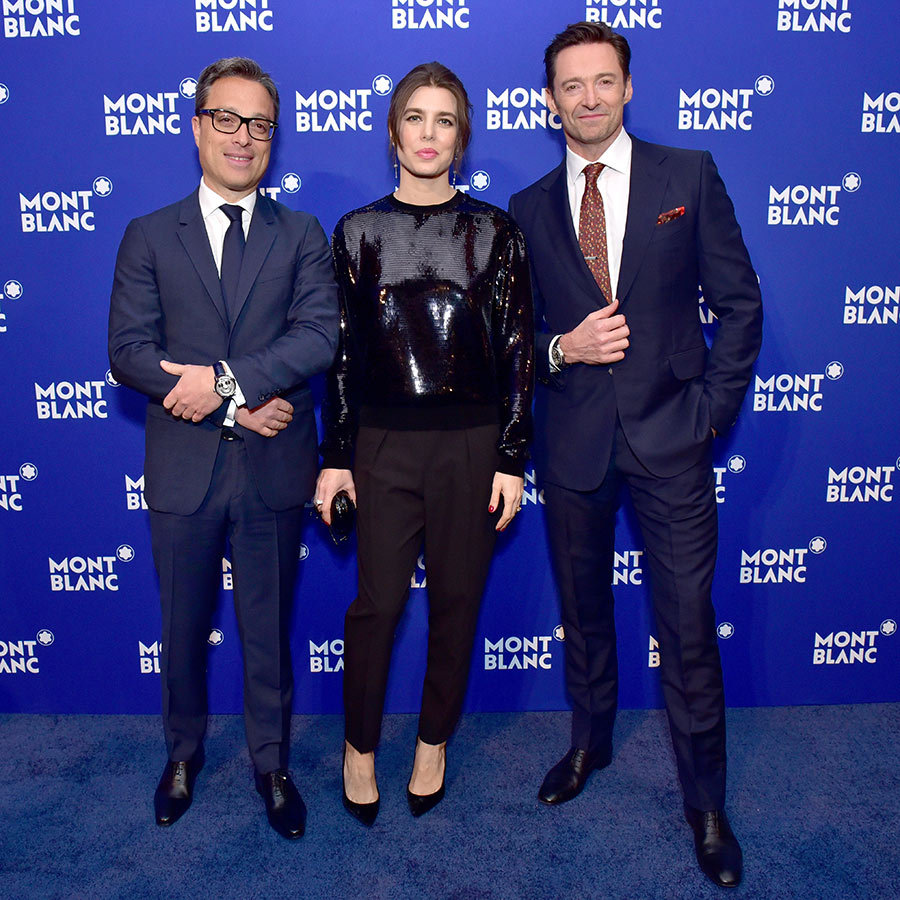 Along with fellow A-listers like Hugh Jackman and Rita Ora, the Montblanc brand ambassador proved that trousers are anything but boring at the Le Petit Prince gala in New York. Charlotte paired black slacks and pumps with a sequinned sweater to dazzling ends!