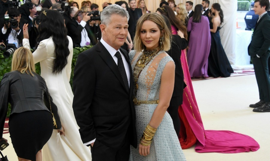 <h2>David Foster and Katharine McPhee</h2>