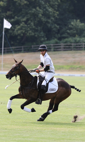 Faster than a bolt of lightning! Prince Harry raced his horse on the field while participating in the Audi Polo Challenge at Coworth Park Polo Club on July 1. His wife, Meghan Markle, and her friends Serena Williams and Alexis Ohanian were on the sidelines cheering him on.