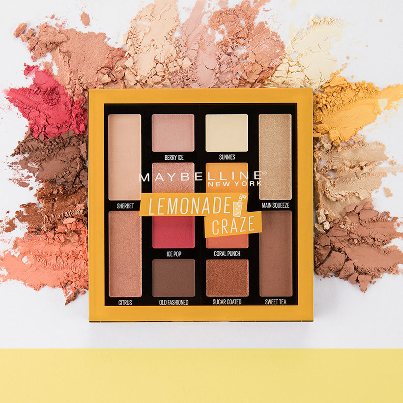 "<p><strong>Maybelline New York Lemonade Craze Eyeshadow Palette, $17.99, <a href=""walmart.ca"">walmart.ca</a></strong></p>