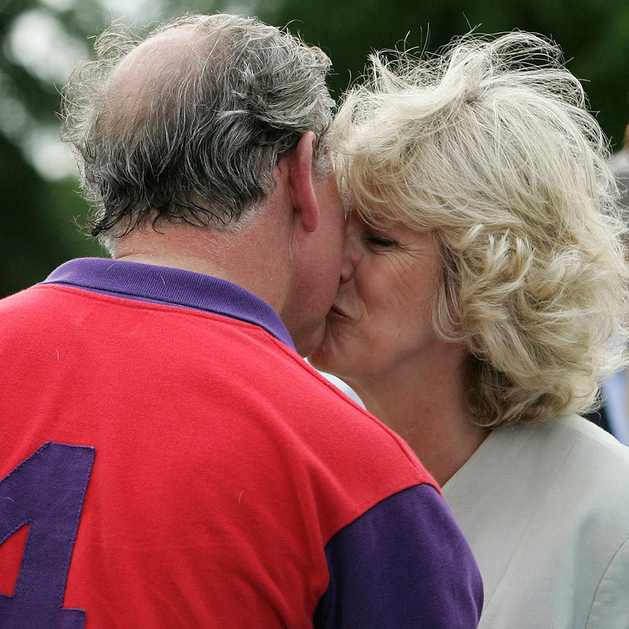 Prince Charles may have won a prize after a polo match at Cirencester in 2005, but the cherry on top was a peck from his wife Camilla, Duchess of Cornwall!