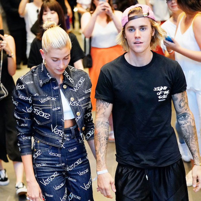 <h2>Justin Bieber and Hailey Baldwin</h2>