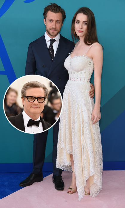Colin Firth reportedly married <em>Vogue</em> editor-in-chief Anna Wintour's daughter, Bee Shaffer. Her private nuptials to Italian director and photographer Francesco Carrozzini were held at her mom's home in Long Island.