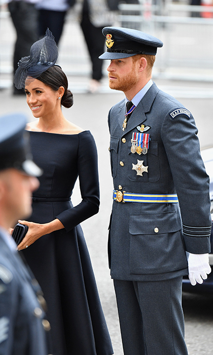 The Duke and Duchess of Sussex made a dapper duo as they celebrated the air force on Tuesday morning (July 10), just hours before they fly to Ireland for a two-day visit - their first official overseas trip!