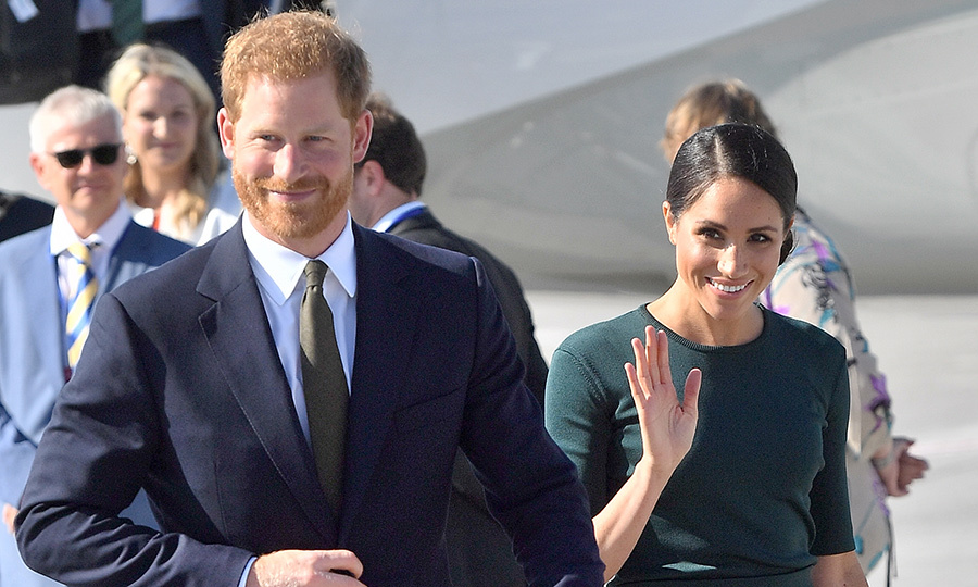 "The <a href=""/tags/0/prince-harry-and-meghan/"">Duke and Duchess of Sussex</a> touched down in Dublin, Ireland for their first-ever official overseas trip on July 10, 2018 after a fun morning celebrating the <a href=""https://ca.hellomagazine.com/royalty/02018071046115/meghan-markle-kate-middleton-raf-centenary-best-photos"">Royal Air Force's 100th anniversary in London</a>. Prince Harry and Meghan's two-day visit to the Emerald Isle promises to be full of cultural education and activities, including a visit to a Gaelic sports festival at Croke Park and a lavish garden party. The royal couple will also pay a visit to Trinity College to see the world's oldest manuscript, Book of Kells, before paying their respects at the city's Famine Memorial in Custom House Quay. 