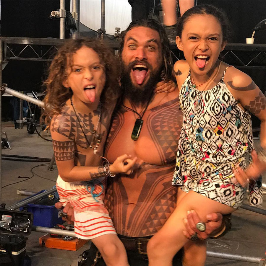 Jason Momoa's Cutest Dad Moments On Instagram