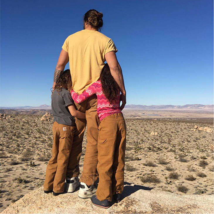 """To the future,"" Jason captioned this beautiful view and cherished family moment.