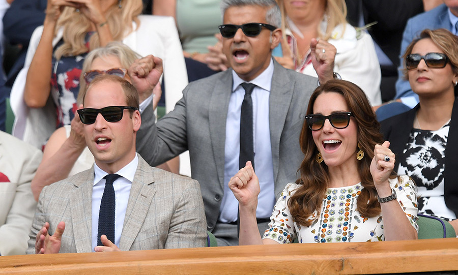 "Of course, she also accessorized with her favourite Ray-Ban sunnies - just like her husband, <strong><a href=""/tags/0/prince-william"">Prince William</a></strong>! 