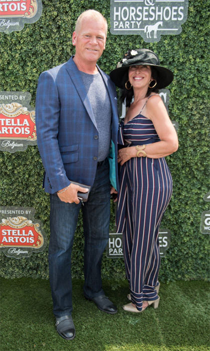 Mike Holmes and girlfriend Anna Zappia