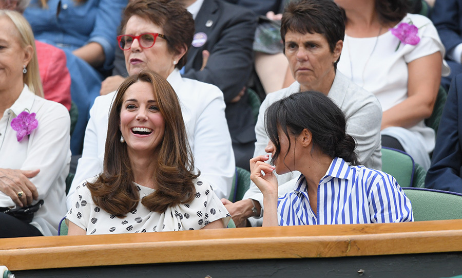 What did Meghan say that was so funny? 