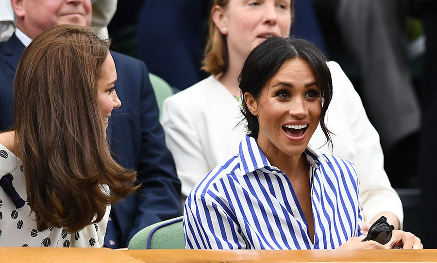 "Later, the duo will watch Meghan's friend Serena Williams compete for the women's singles title - and the tennis ace recently gushed about their friendship. ""We've always had a wonderful friendship and every year for a couple years she comes out to Wimbledon, has supported me and now she's supporting me in a different role. But our friendship is still exactly the same,"" she said. ""We always have supported each other, just been there for each other through a lot.""