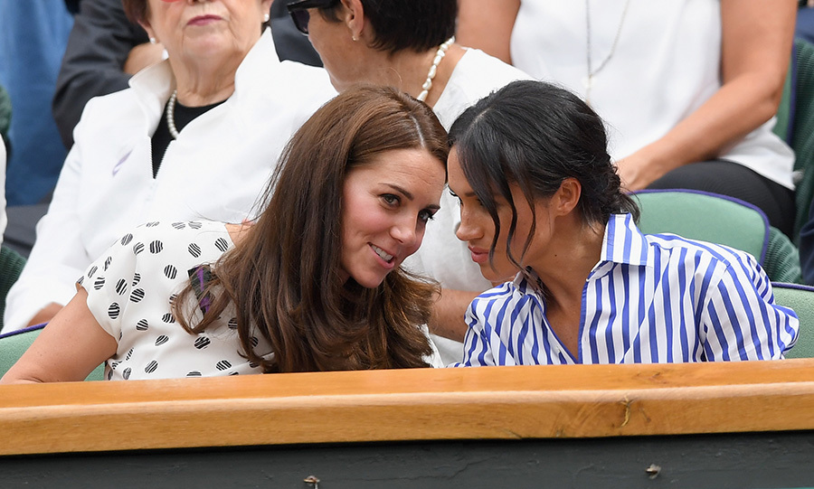 Kate and Meghan were enjoying their girls' day out, their first solo outing together!