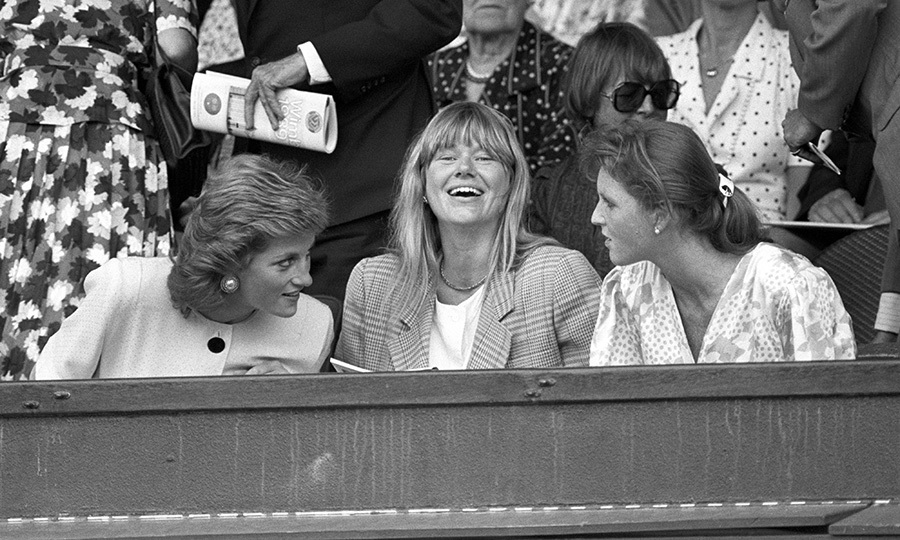 Wimbledon is an event not to be missed, and you better believe Diana and Sarah were there together in 1989! The two chatted in the stands while watching the matches.