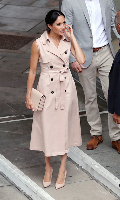 Meghan's looks are always on point.