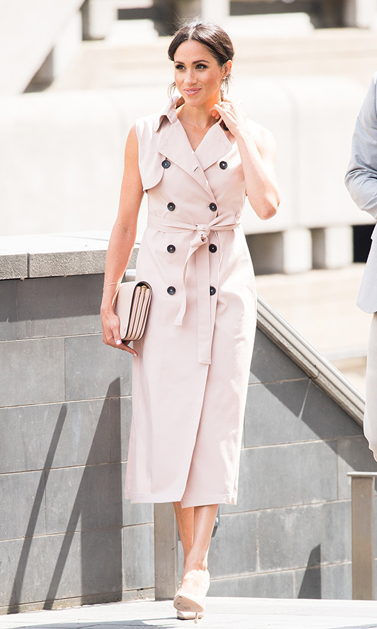 <h2>NONIE Trench Dress</h2>