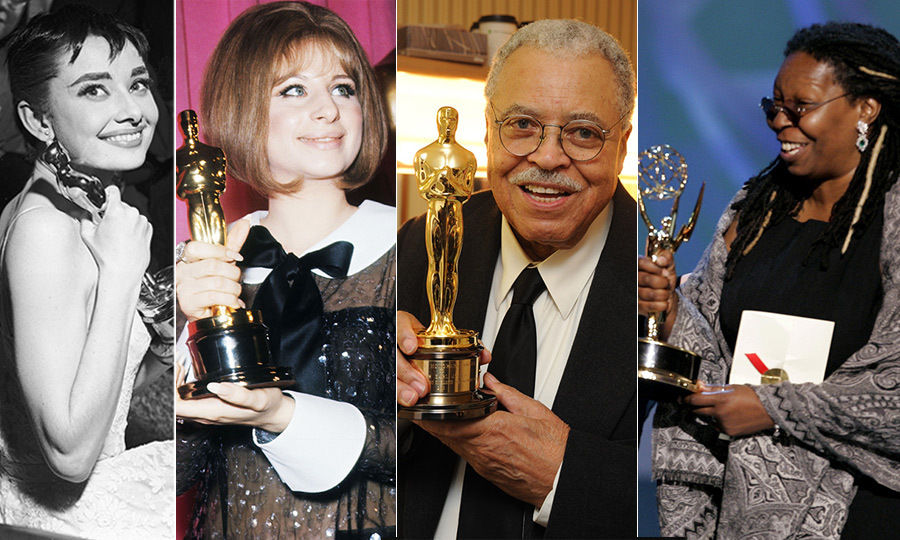 "The EGOT club refers to those in the entertainment industry that have received an <a href=""/tags/0/emmys/"">Emmy</a>, a <a href=""/tags/0/grammys/"">GRAMMY</a>, an <a href=""/tags/0/oscars/"">Oscar</a> and a <a href=""/tags/0/tony-awards/"">Tony</a> for their work on stage and screen. 15 people have earned the quartet of accolades thus far as new members John Legend, Andrew Lloyd Webber and Tim Rice, all producers on <em>Jesus Christ Superstar Live</em> were inducted on Sept. 9, 2018. <p><strong>Click through to get to know the stars in the EGOT club...</strong></p> 
