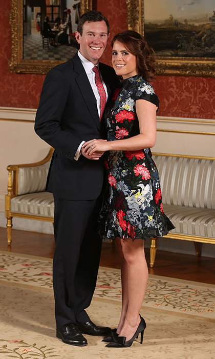 Princess Eugenie and Jack Brooksbank looked picture perfect in their engagement photos.