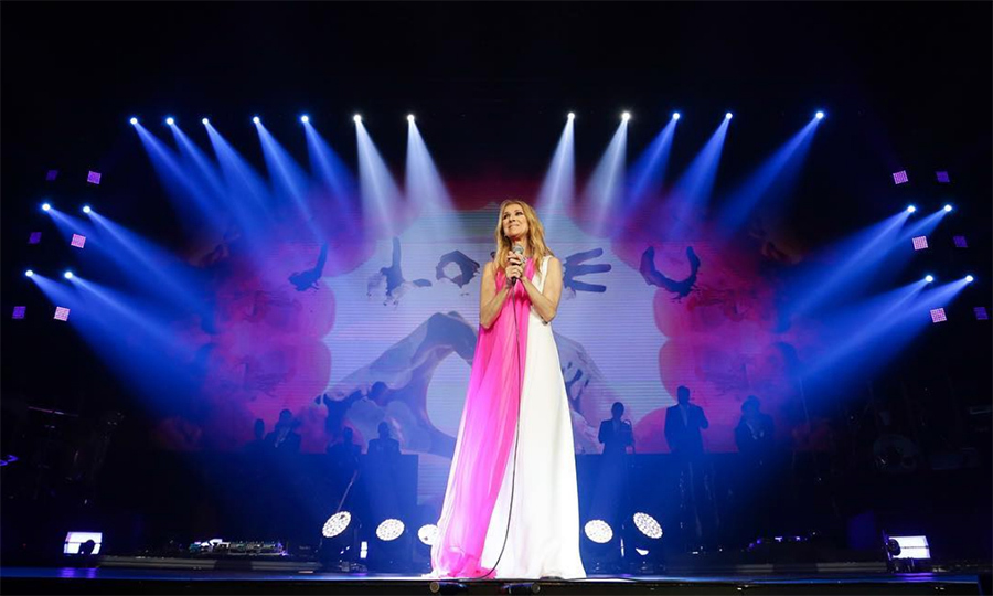 "Queen Celine put on quite the show in Manila, but now it's time to go farther south to Thailand! The star looked incredible in a two-tone dress. Sharing the on-stage snap on Instagram, she wrote: ""Maraming Salamat, Manila. What an unforgettable weekend! Tonight, it's your turn Bangkok, I can't wait to see you all!""