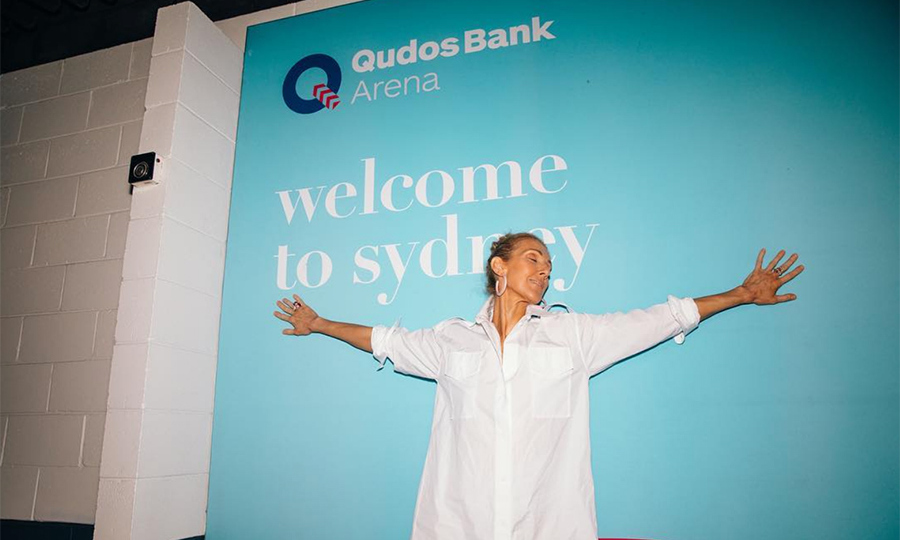 """Feelin' over the top…. Down Under!"" was the caption for this joyous snap. Wearing a Celine shirt dress and hoop earrings, the singer posed with eyes closed and outstretched arms in front of a sign for the QudosBank Arena in Sydney. ""Thank you so much @celinedion, for coming to Sydney,"" commented one fan. ""I was at your concert last night, so many emotions, you are a beautiful person, please come again, but not 10 years haha."" 