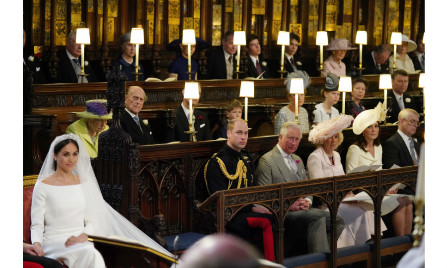 An estimated 1.9 billion people tuned in to watch the royal wedding, but only one person had the best seat in the house and that was the Queen. The monarch didn't just keep a loving eye over the proceedings at St. George's Chapel at Windsor Castle, but she made sure Meghan glistened on her special day in the form of a cherished tiara from her magnificent jewelry collection. 