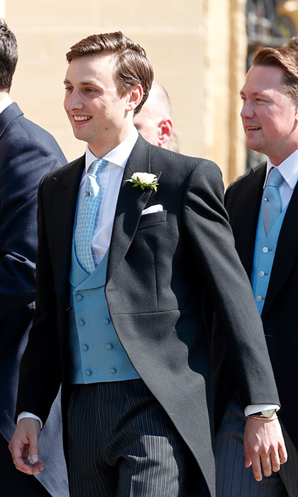 <h2>Charlie Van Straubenzee's wedding</h2>