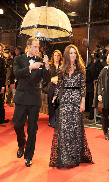 <h2>First royal film premiere</h2>