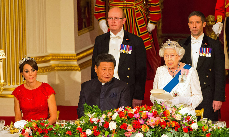 <h2>First state dinner or diplomatic reception</h2>