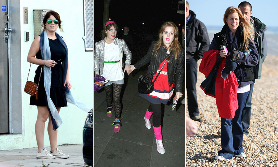"<a href=""/tags/0/princess-beatrice"">Princesses Beatrice</a> and <a href=""/tags/0/princess-eugenie"">Eugenie</a> are the best of friends, sharing a bond that only young royal career women would understand. But that doesn't mean Prince Andrew's daughters never fight - especially when shoes are involved! Speaking to <em>British Vogue</em>, Beatrice opened up about one of their biggest spats. ""One of the biggest fights we ever had was about a pair of Converse trainers,"" explained the 29-year-old. ""We have the same size feet and both of us had identical pairs. One pair got trashed and the other sister may have swapped them."" In honour of this sweet sisterly tale, we've rounded up the duo's best Converse moments! <strong>Click through to see them all...</strong>"