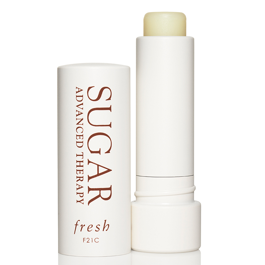 "<strong>Fresh Sugar Advanced Therapy Lip Therapy with SPF 15</strong>, $32, <a href=""sephora.ca"" target=""_blank"">sephora.ca</a><br>