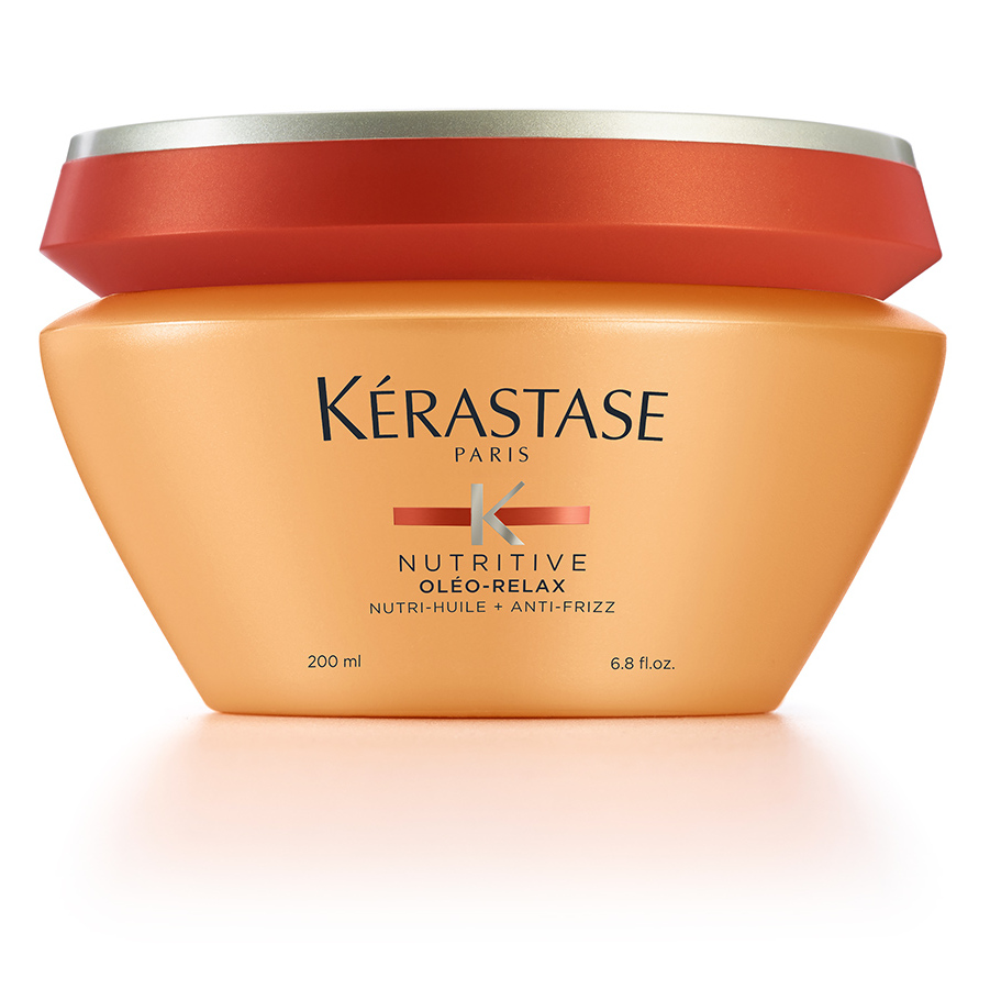 "<strong>Kérastase Nutritive Oleo-Relax Anti-Frizz Masque</strong>, $65, <a href=""kerastase.ca"" target=""_blank"">kerastase.ca</a><br>