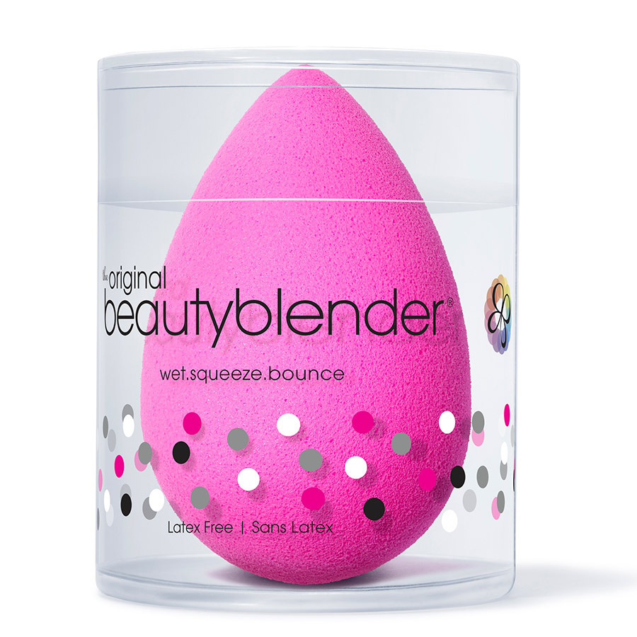 "<strong>Beautyblender</strong>, $26, <a href=""sephora.ca"" target=""_blank"">sephora.ca</a><br>